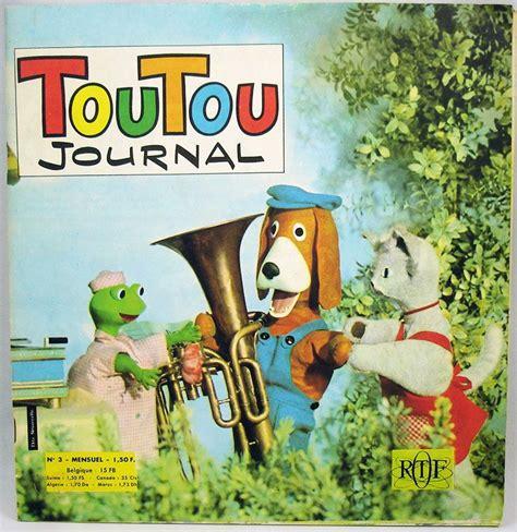 maison de toutou toutou journal monthly 03 ortf 1967