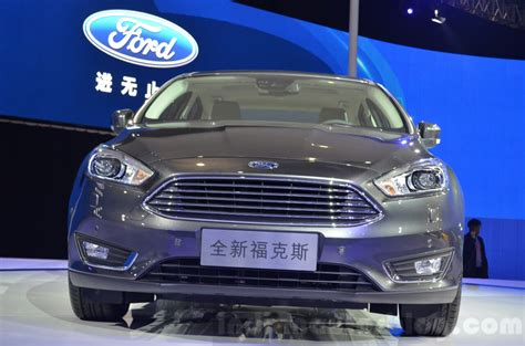 Ford Focus China by Ford Focus China Spec At 2015 Shanghai Auto Show