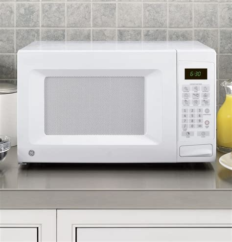 countertop microwave ovens ge jes1139dsww 1 1 cu ft countertop microwave oven with