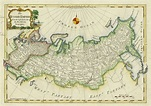 Old and antique prints and maps: Russian Empire map, 1773 ...
