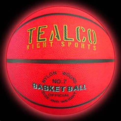 Light Up Basketball by Tealco Light Up Basketball Size Tough