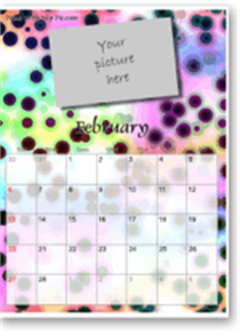 cool calendar templates spot photo printable