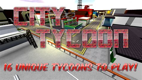 city tycoon roblox