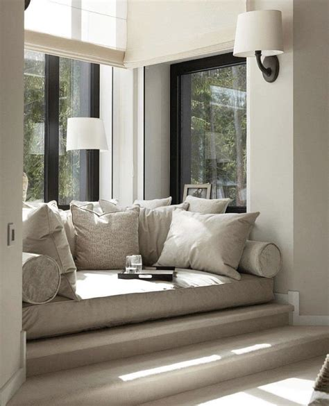 Living Room Window Nook by Comfy Nook Home Home Decor Home Modern House Design