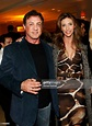 Actor Sylvester Stallone and wife Jennifer Flavin Stallone ...
