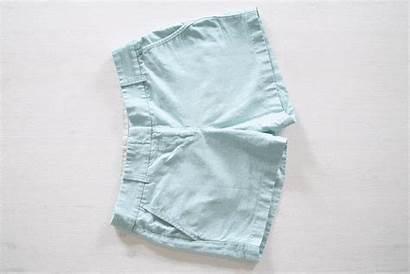 Konmari Folding Shorts Method Fold Clothes Half
