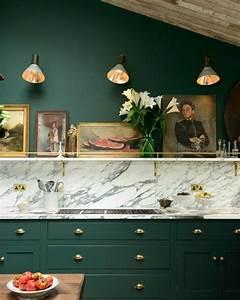 Orange Vert Quel Couleur : couleur peinture cuisine 66 id es fantastiques ~ Dallasstarsshop.com Idées de Décoration