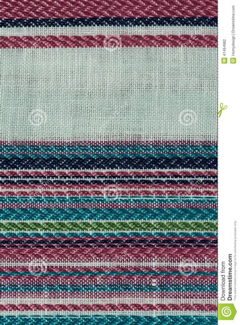 Multi Color Fabric Texture Samples Stock Photo Image