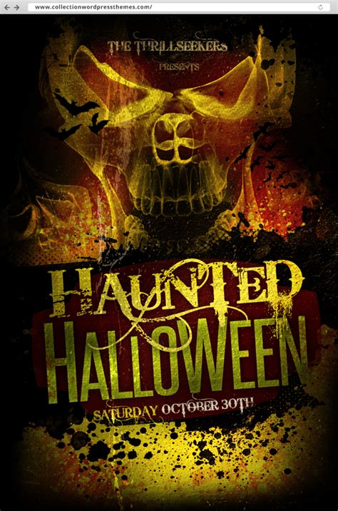 free printable halloween flyer 10 amazing flyer free psds best themes review