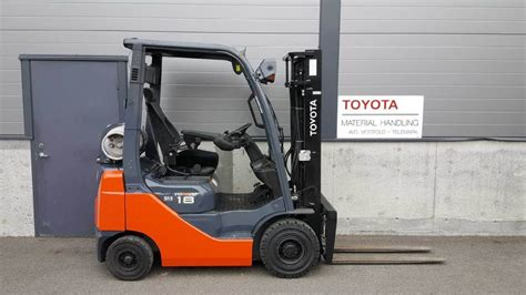 Used Toyota 028fgf18 Diesel Forklifts Year 2013 Price