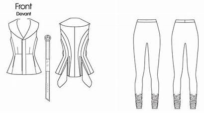 Patterns Leggings Vogue Pattern 1214 Sewing Drawing