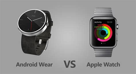 wearables war apple vs android wear