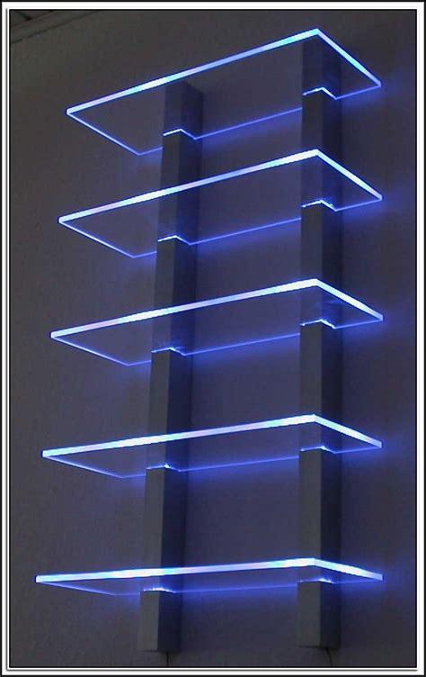 Glasregal Mit Led glasregale mit led beleuchtung beleuchthung house und