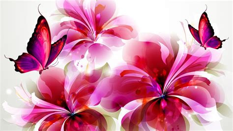 Animated Flowers Wallpapers Free - beautiful butterflies and flowers wallpapers 56 images