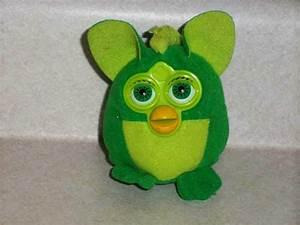 McDonald's 2000 Furby Dinosaur No Clip Happy Meal Toy ...