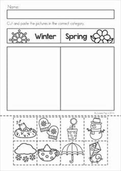 1000 images about pre k seasons weather calendar on
