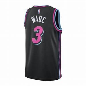Dwyane Wade Nike Miami Heat Youth Vice Nights Swingman