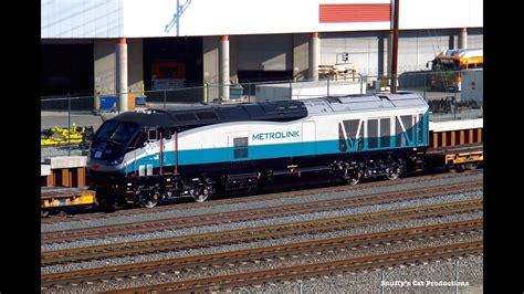metrolink f125 emd tier unit arrived
