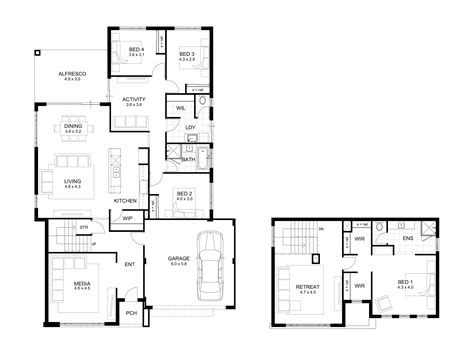 pictures   bedroom house plans  story  house plan cottage house plans