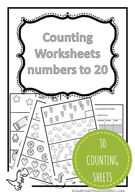 counting worksheets 1 20 free printable workbook counting worksheets 1 20 mathematics