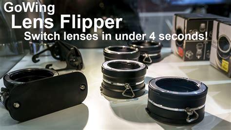 lensvid exclusive  lens flipper change lens