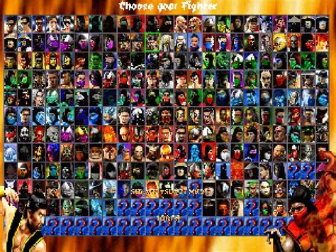 Mortal Kombat All Characters All Mortal Kombat Characters Names And Pictures