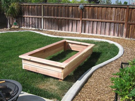 pine tree home garden raised garden beds