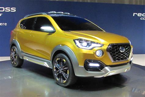 Datsun Unveils New Gocross Concept Is It A Dacia Duster