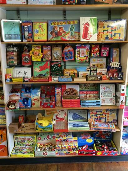 Toys Toy Shops 1950 Games Those History