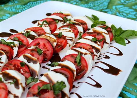 Garden Salad Ideas by Caprese Salad Recipe Oh My Creative