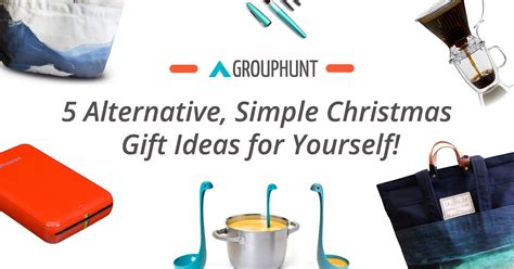 5 alternative simple christmas gift ideas for yourself