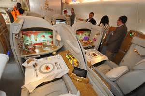 Emirates Airbus A380 Interior First Class