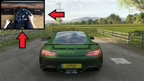 Compared to full exclusive forza work, it's quite a difference. Forza Horizon 4 - Mercedes AMG GTR | Logitech g920 ...