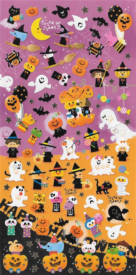 halloween sticker sheets festival collections