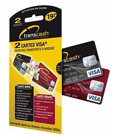 Transcash La Carte Visa Sans Banque Maxi Crdit