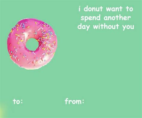 Valentine's Day Donut Card