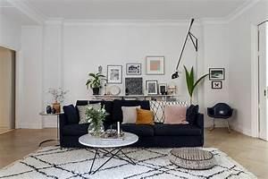 quel style de tapis choisir pour une deco boheme With tapis berbere avec canapé design nitro