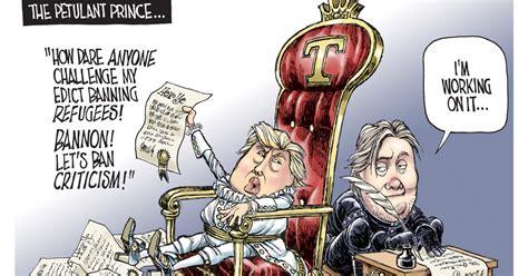 January 2017 Daily Editorial Cartoons
