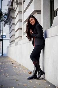 Fall Outfit Series - Casual Riding Boots Outfit