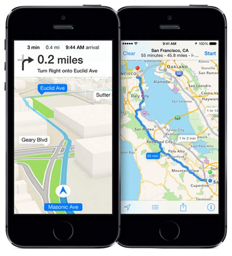 maps for iphone how to add a directional arrow to apple maps the iphone faq