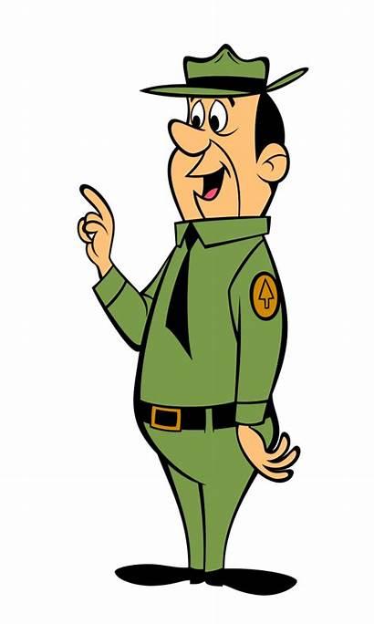 Yogi Ranger Bear Smith Cartoon Clipart Park