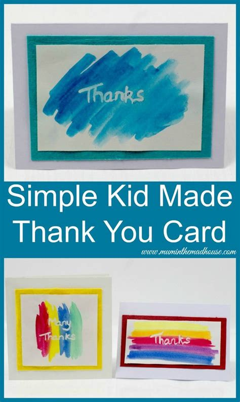 25+ Best Ideas About Kids Thank You Cards On Pinterest
