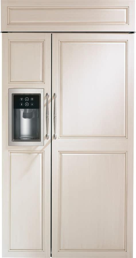 monogram zisbdk  built  refrigerator  dispenser wifi connect custom panel ready