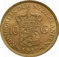 Buy Gold Dutch 10 Guilder Coin | BullionByPost® - From £208