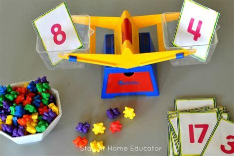 balancing scale and counting bears printable activities 457 | Counting bears and balancing scale printables1