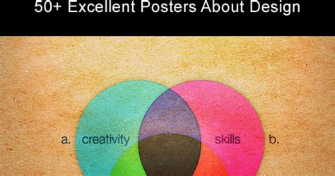 Dzinegeek 50+ Excellent Posters About Design