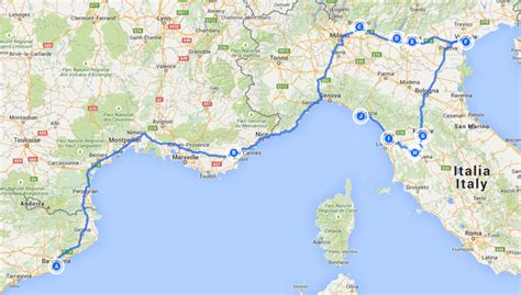 road trip et cing dans le nord de l italie les