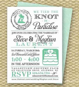 destination wedding invitation post destination wedding With the knot wedding invitation language