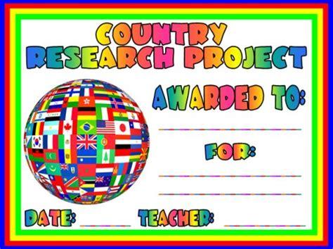 Social Studies Award Certificates