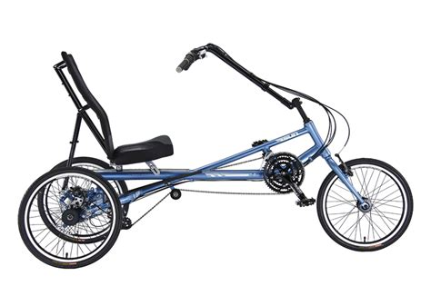 Three Wheel Recumbent Bicycles